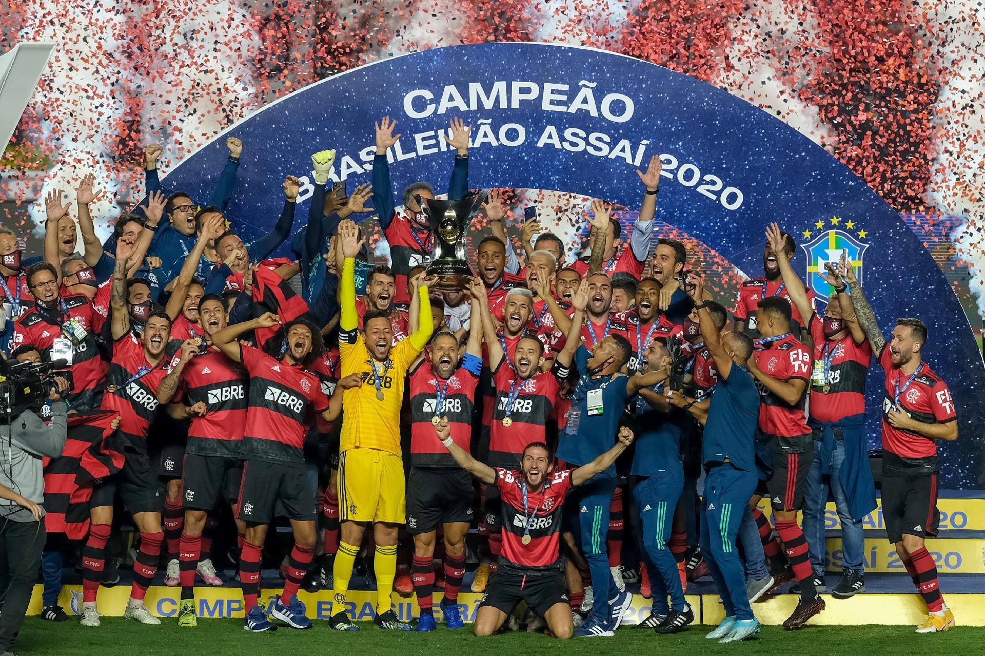 Flamengo é campeão brasileiro Foto: Marcello Zambrana/AGIF