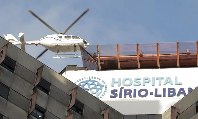 Covid-19: 22 pacientes esperam vaga na UTI do Sírio - Foto: Agencia O Globo