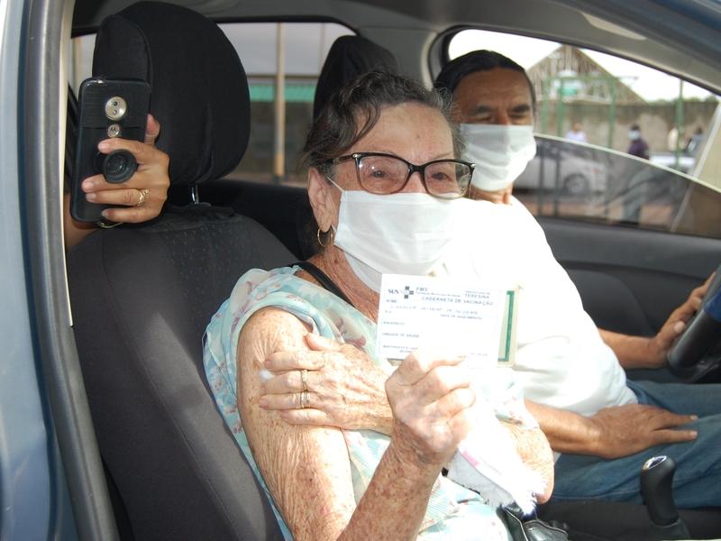 Teresina tem postos de vacinação no fim de semana - Foto: Divulgação/FMS