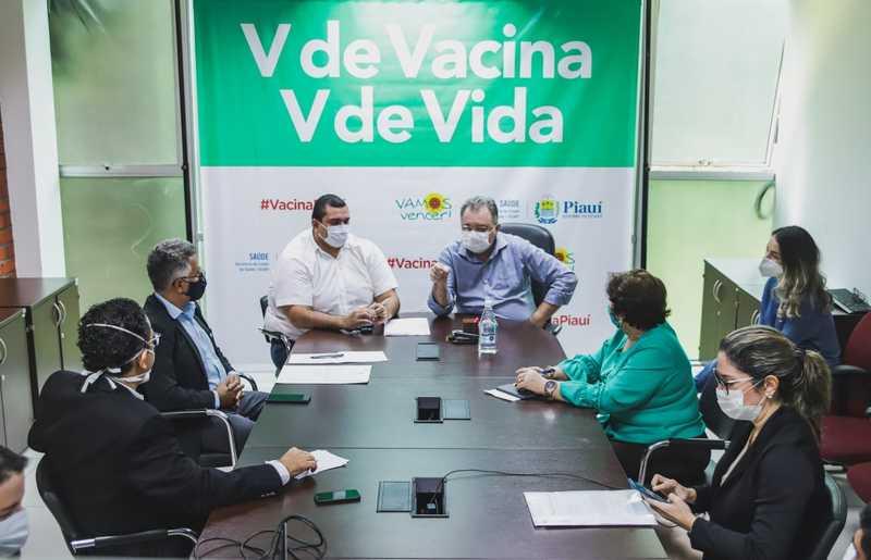 Sesapi vai pedir aos municípios vacinação dos estagiários de saúde - Imagem 1