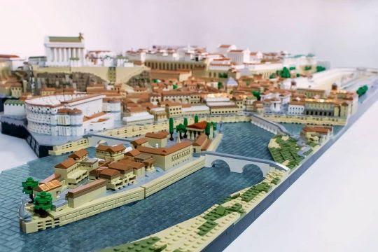 Detalhe da Obra Roma antiga