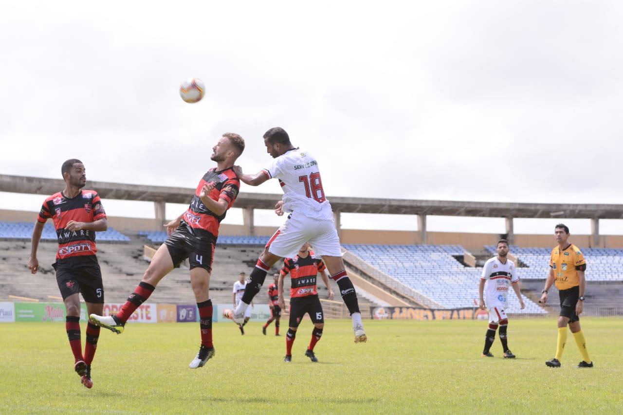 Flamengo vence o River no Albertão com 2 gols aos 48 do segundo tempo - Foto: Assessoria River