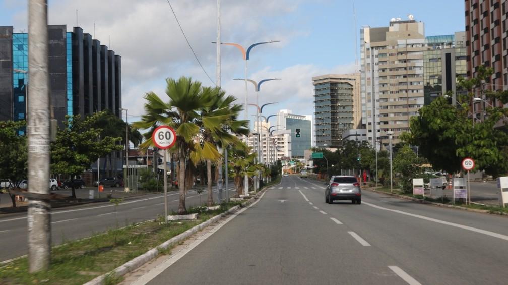 Lockdown em São Luís em maio de 2020