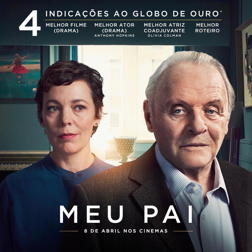 """""""Meu Pai"""" recebe 4 indicações ao Globo de Ouro 2021. Confira o vídeo! - Imagem 1"""