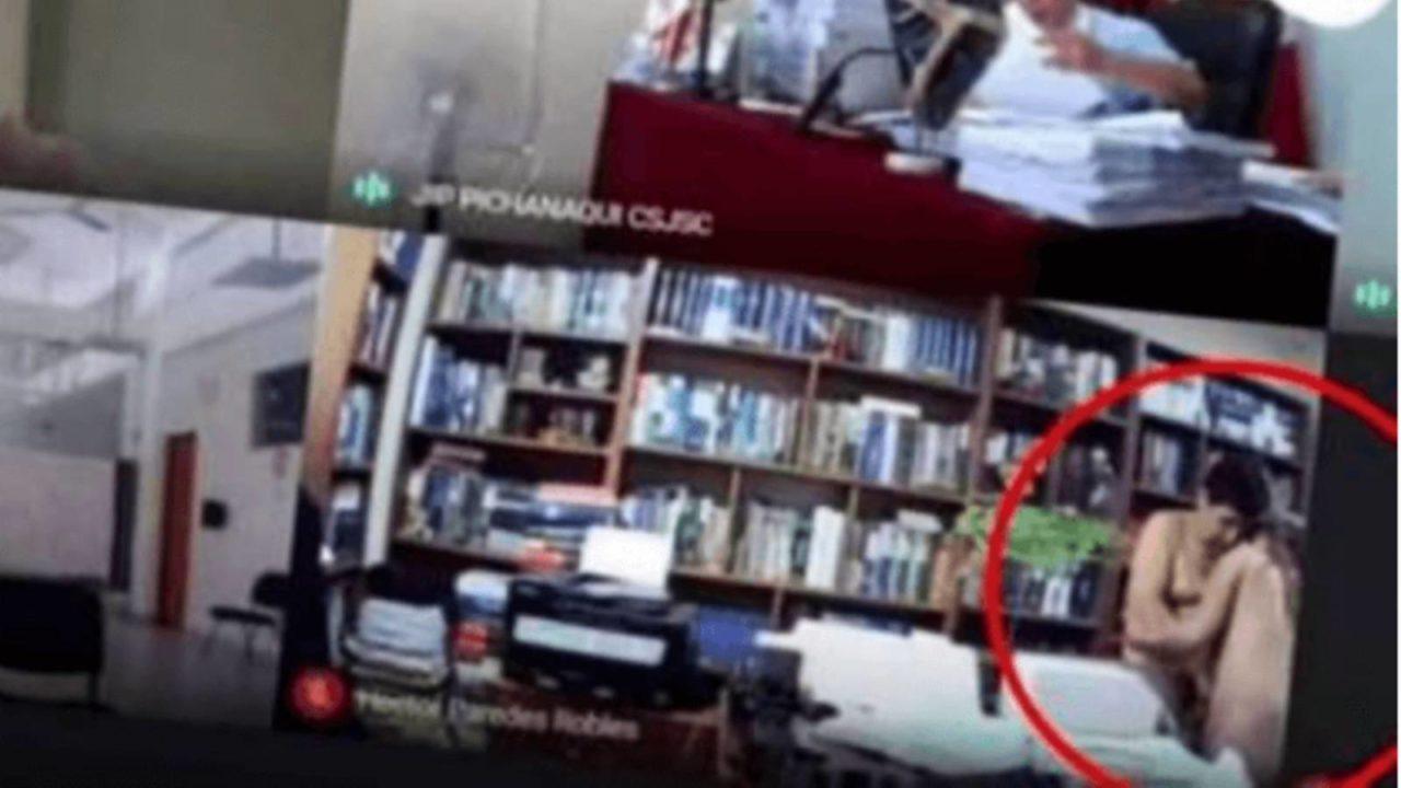 Advogado é flagrado fazendo sexo durante audiência virtual no Peru
