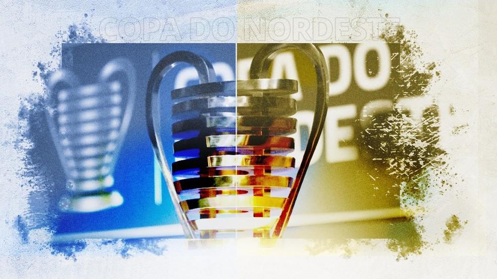 Taça da Copa do NE-Foto: Ge