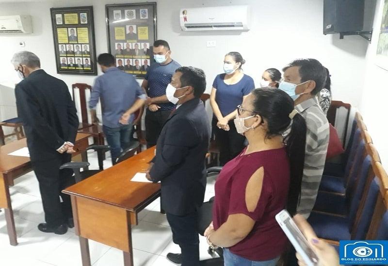 Milton Brandão: Prefeito Evangelista Resende, participa de Sessão Solene e diz em discurso que trabalhará em parceria com todos vereadores  - Imagem 15