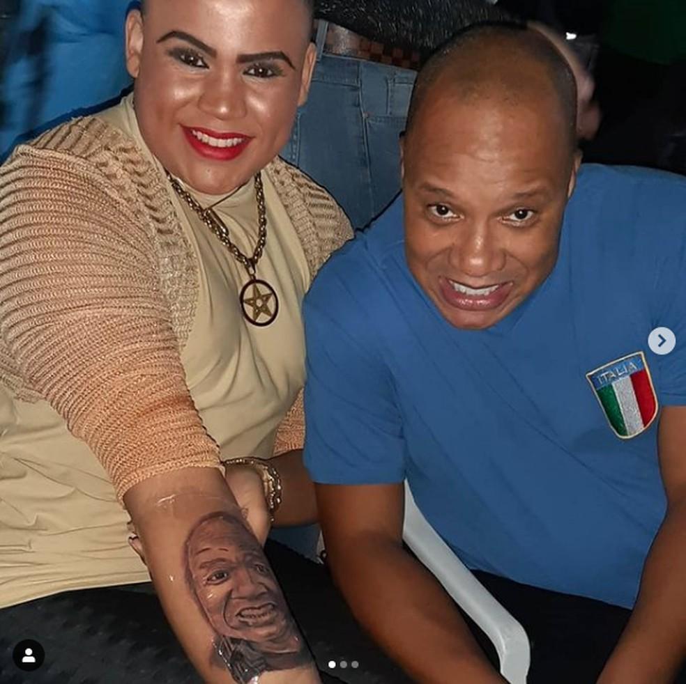 MC Maylon e Anderson Leonardo - Foto: Instagram