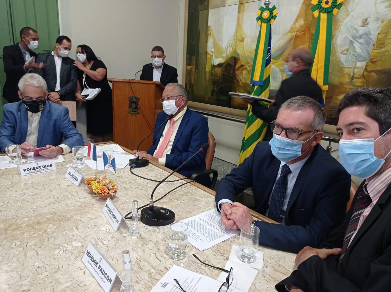 Pessoa diz que grupo que perdeu eleições interfere em problemas de THE- Foto: Efrém Ribeiro