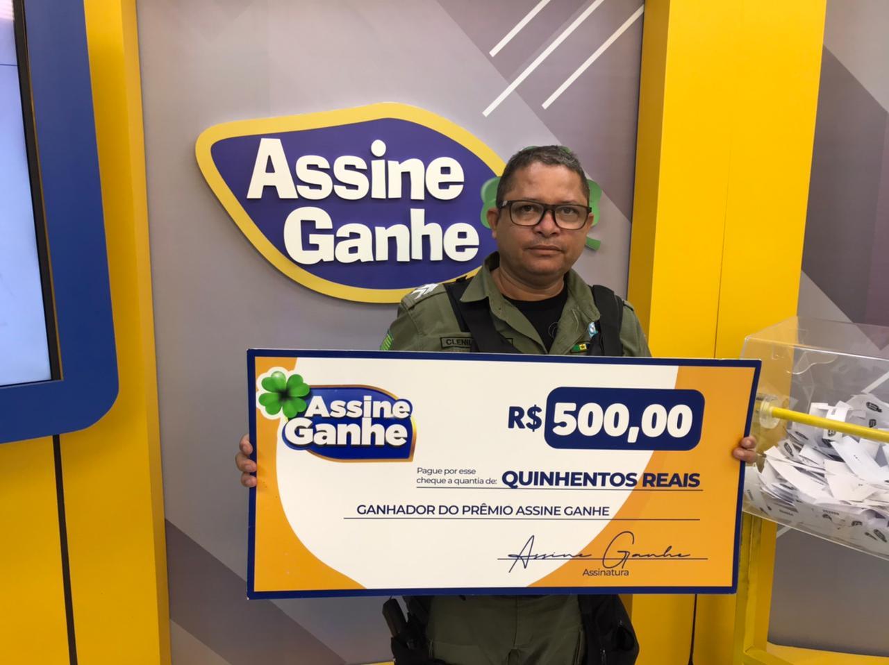 Assine Ganhe:133º sorteado recebe prêmio de R$ 500 na Rede Meio Norte - Imagem 1