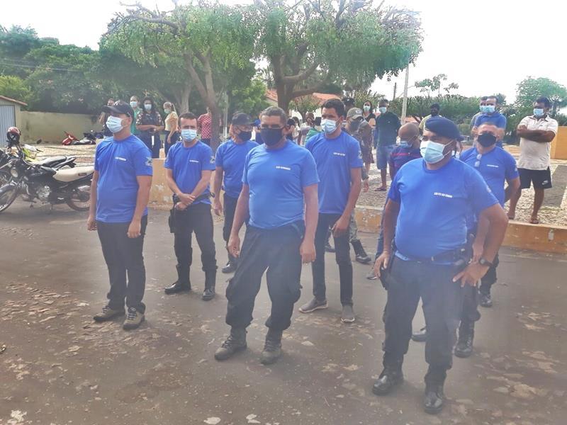 Milton Brandão: Prefeito Evangelista Resende, cria, equipa e entrega Secretaria Municipal de Segurança a população  - Imagem 12