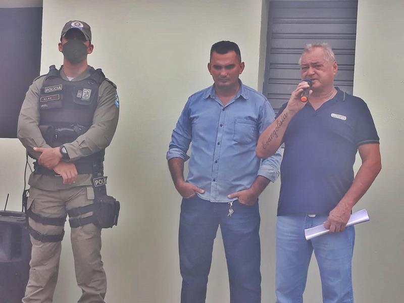 Milton Brandão: Prefeito Evangelista Resende, cria, equipa e entrega Secretaria Municipal de Segurança a população  - Imagem 7