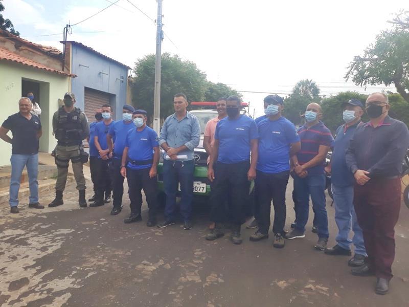 Milton Brandão: Prefeito Evangelista Resende, cria, equipa e entrega Secretaria Municipal de Segurança a população  - Imagem 18