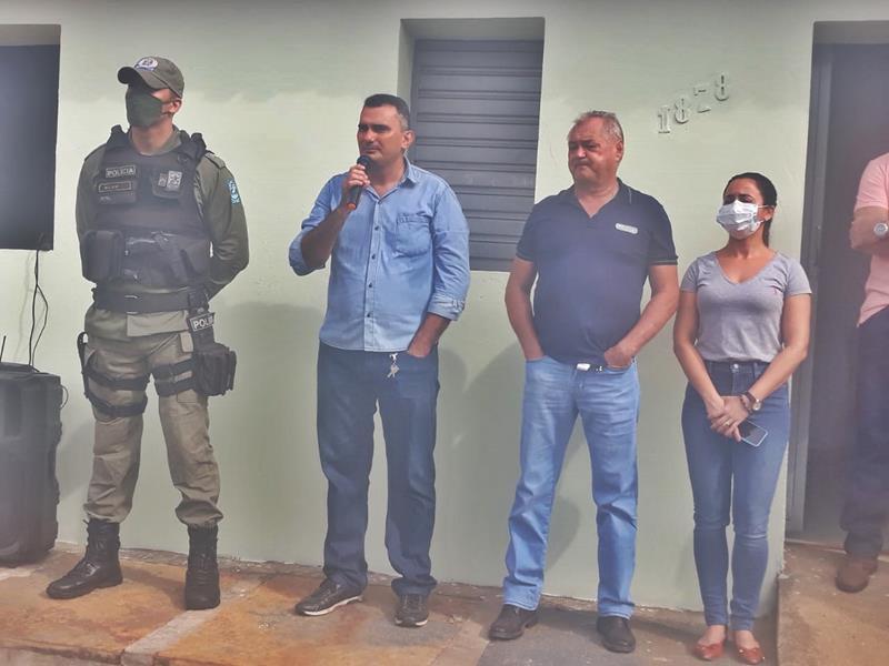 Milton Brandão: Prefeito Evangelista Resende, cria, equipa e entrega Secretaria Municipal de Segurança a população  - Imagem 2