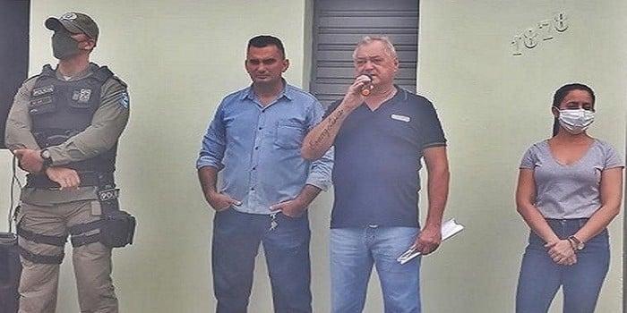 Milton Brandão: Prefeito Evangelista Resende, cria, equipa e entrega Secretaria Municipal de Segurança a população