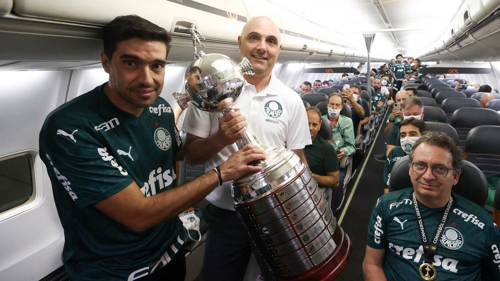 Palmeiras, campeão da Libertadores, se planeja nos bastidores para um 2021 forte — Foto: Cesar Greco / Palmeiras