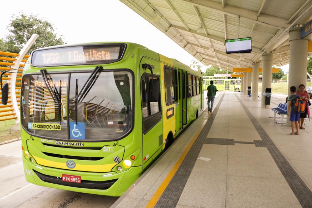 Greve dos ônibus entram em seu segundo dia (Reprodução/ PMT)