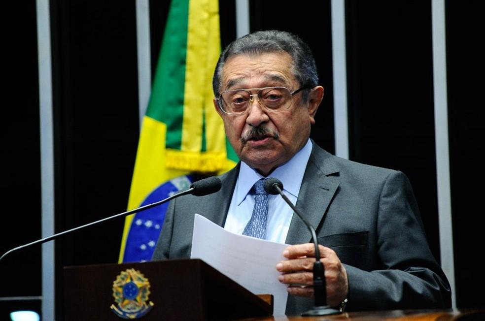 O senador José Maranhao - Foto: Divulgaçao