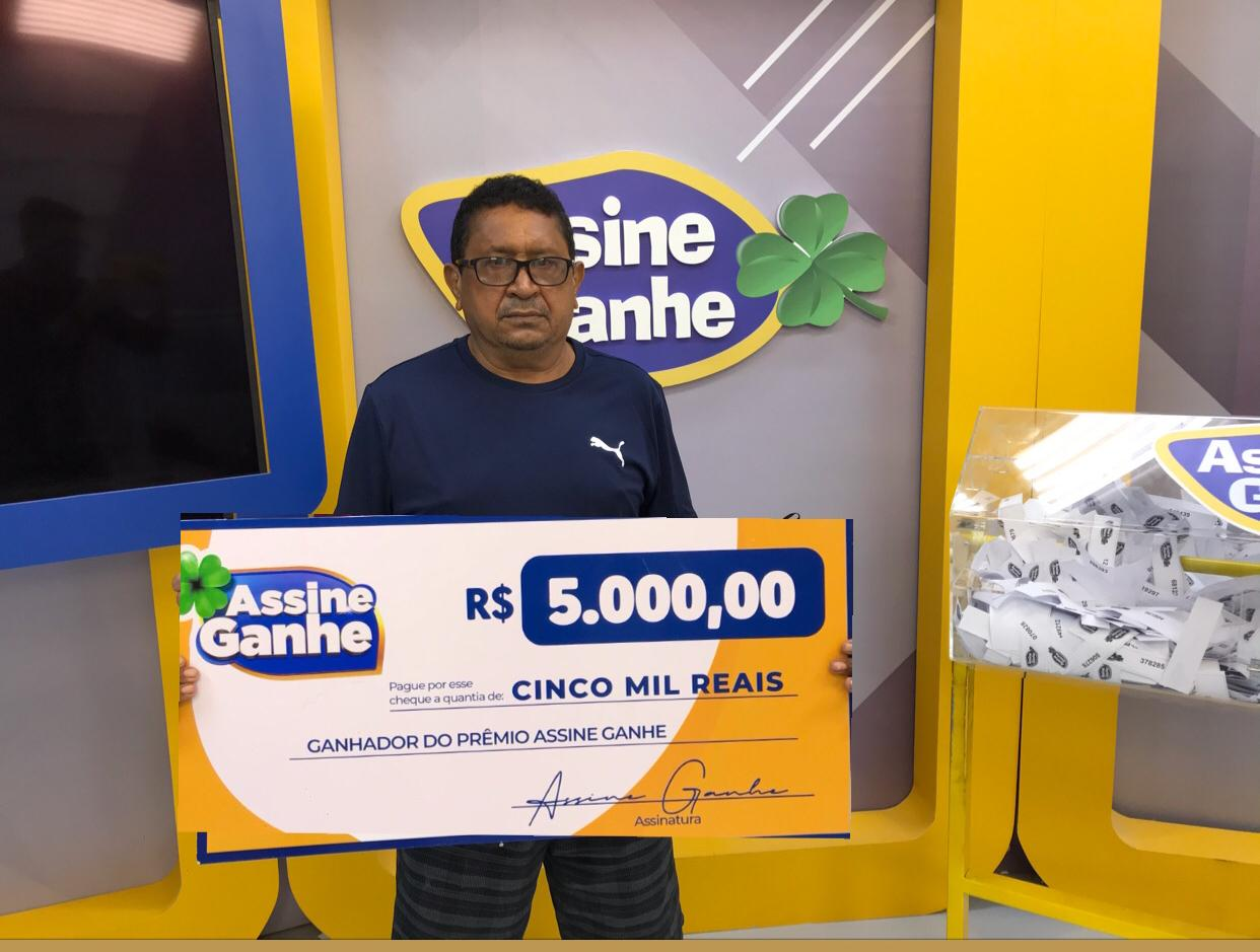 Vicente Marcelo também ganhou R$ 5 mil