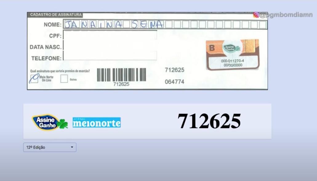 Assine Ganhe: 166ª assinante é sorteada com R$ 5.000,00; assista! - Imagem 1