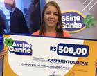 Assine Ganhe: 167ª sorteada recebe prêmio de R$ 500 na Rede Meio Norte