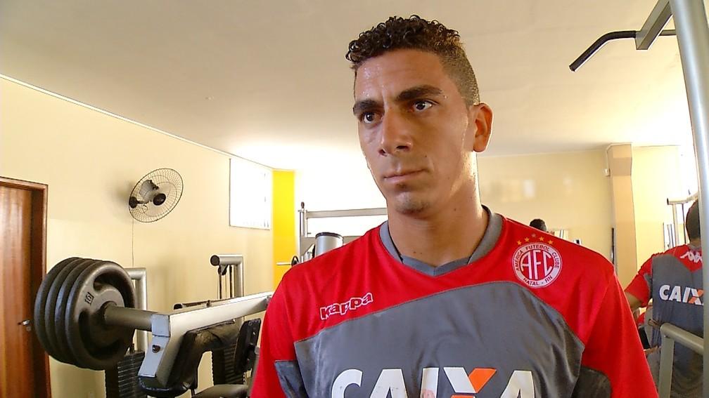 Zé Antônio está otimista para o jogo desta quinta (Crétido: Reprodução-Inter TV Cabugi)
