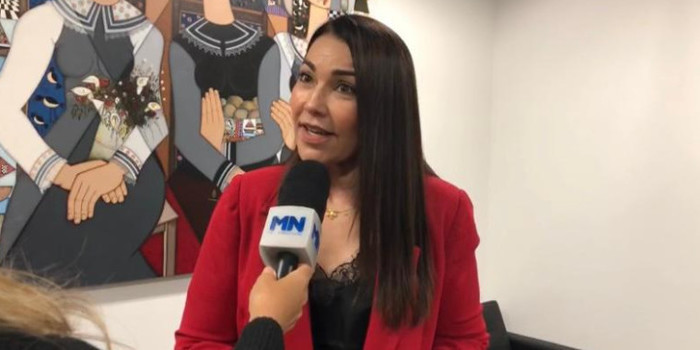 Margarete Coelho almoça com ministro Tarcísio de Freitas