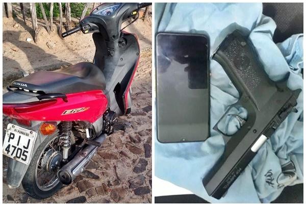 Adolescente de apenas 13 anos é apreendido com moto roubada no PI - Imagem 2