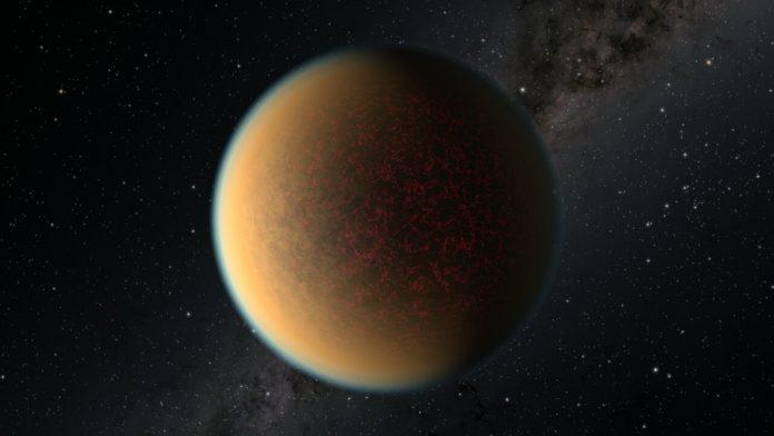 Concepção artística do exoplaneta (Foto: reprodução)