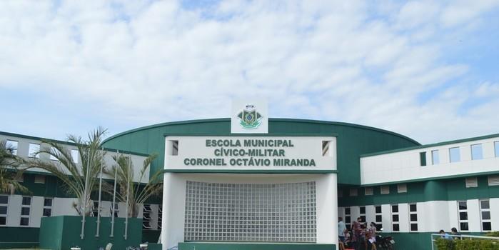 Escola cívico-Militar Cel-octávio Miranda será inaugurada amanhã 13 De março