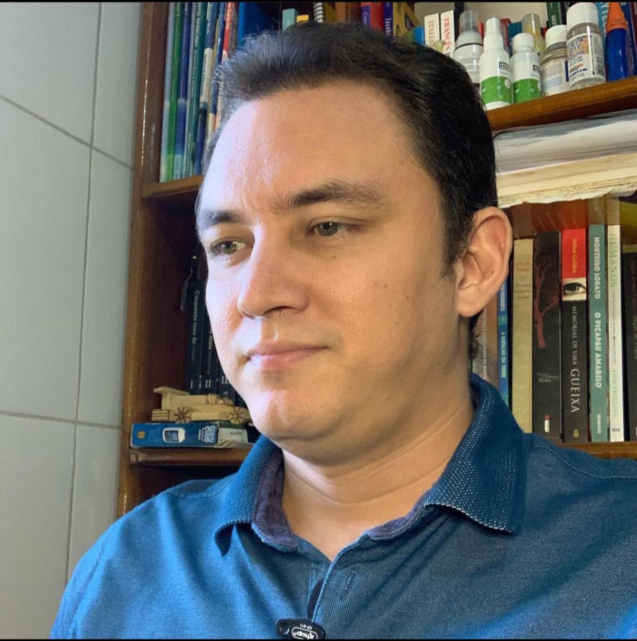 Jefferson Leite, pesquisador da UFPI