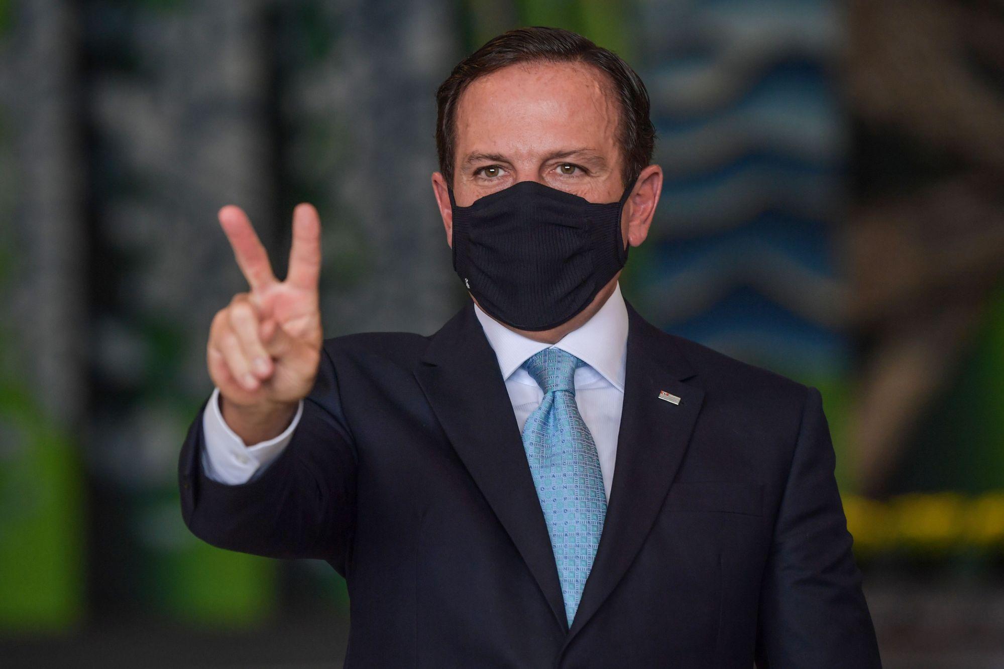 João Doria sinaliza que será candidato à reeleição no governo de São PauloJoão Doria