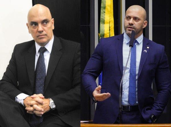 Alexandre de Moraes manda Daniel Silveira para prisão domiciliar
