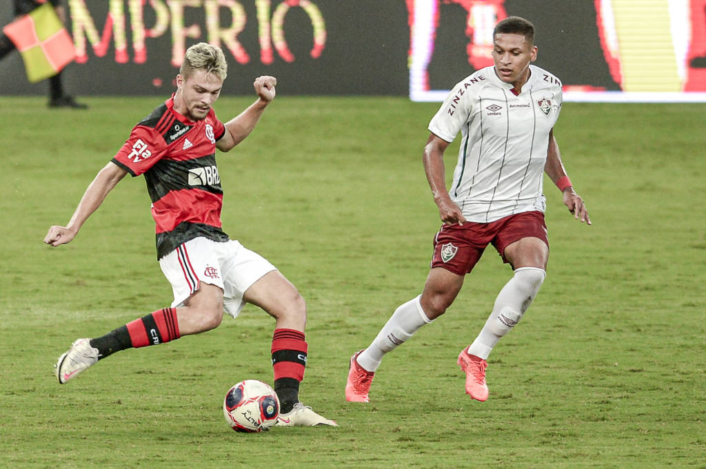 Fluminense vence o Flamengo Foto: Divulgação/Marcelo Cortes