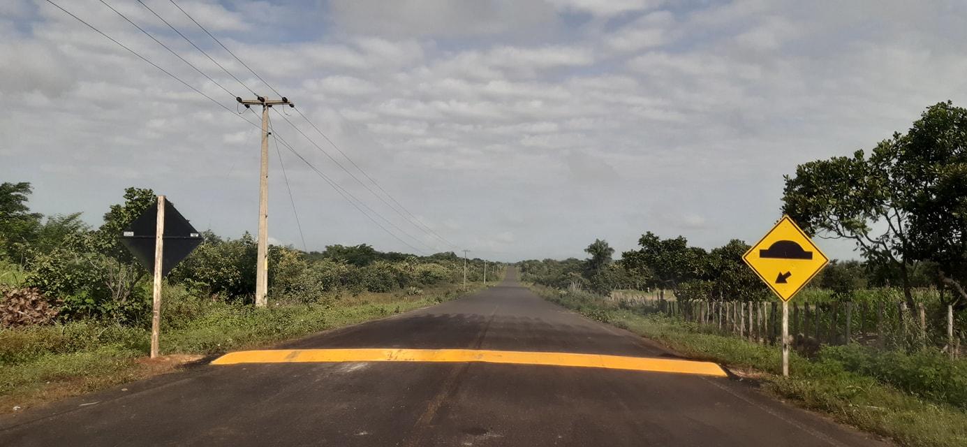 MOBILIDADE URBANA: Prefeitura de Coivaras consegue junto ao DNIT a construção de quebra-molas  - Imagem 2