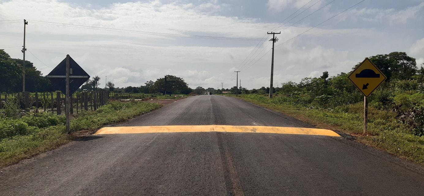 MOBILIDADE URBANA: Prefeitura de Coivaras consegue junto ao DNIT a construção de quebra-molas  - Imagem 3