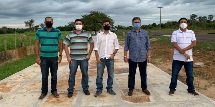 Prefeitura de Coivaras investe na construção de uma Pista de Cooper na entrada da cidade