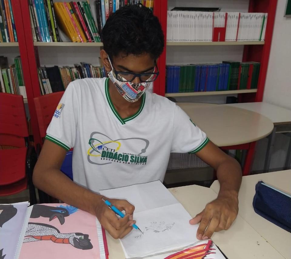 Estudante autista do Piauí é finalista na Feira Brasileira de Ciências
