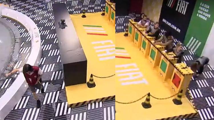 BBB 21: Carla Diaz e Fiuk são eliminados da prova do líder e estão no paredão
