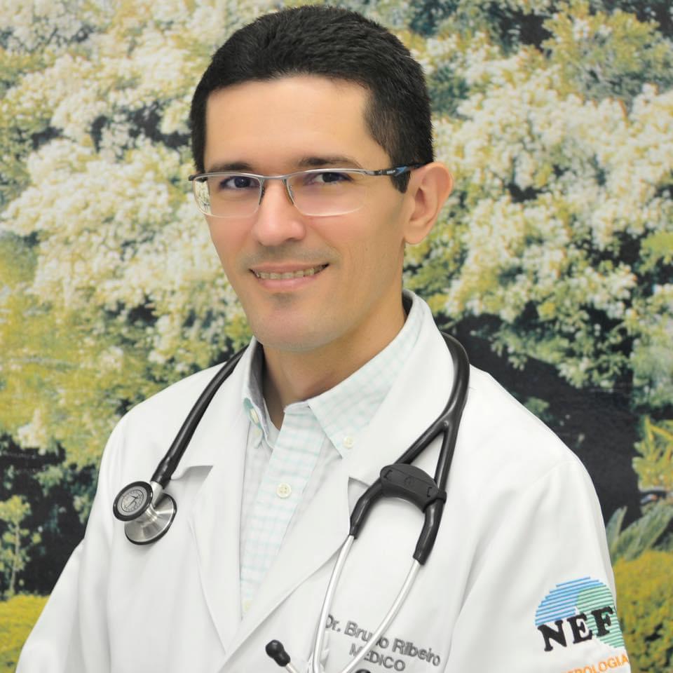 Bruno Ribeiro, médico intensivista. Crédito: arquivo pessoal.