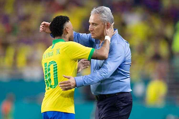 Treinador da Seleção Brasileira aposta no craque do PSG (Foto: Lucas Figueiredo/CBF)