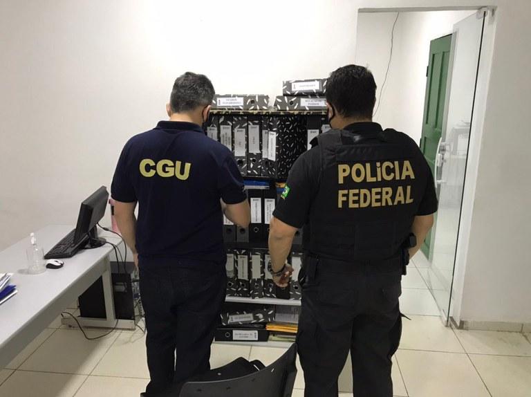 Operação investiga irregularidade na utilização de recursos destinados ao combate da Covid-19 - Foto: Divulgação