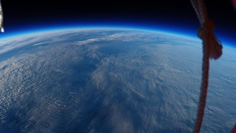 Terra vista do espaço (Imagem: reprodução)