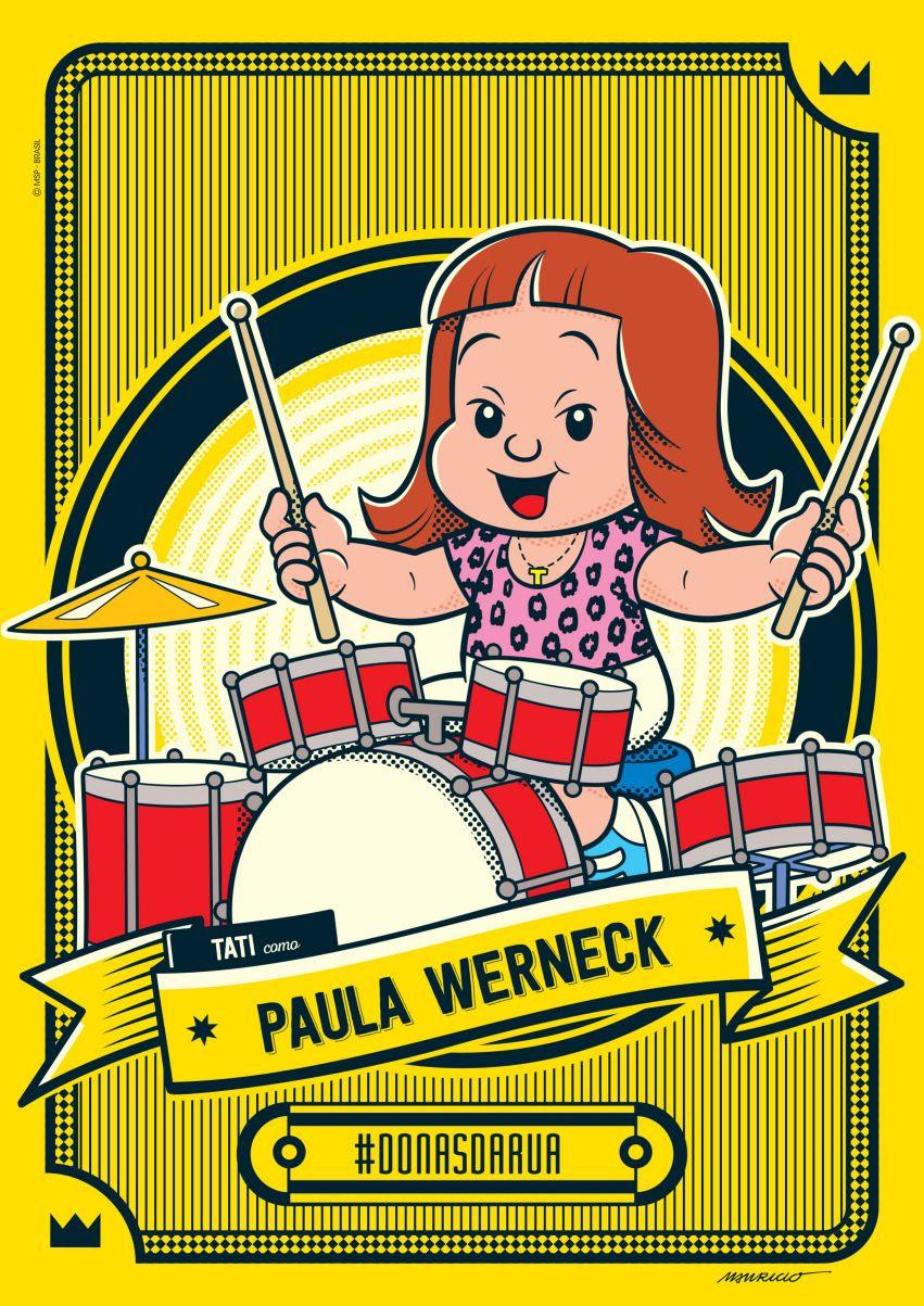 Paula Werneck é homenageada