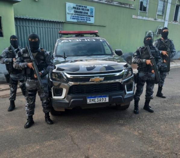 Policiais da Força Tática prenderam suspeito de estupro no Piauí - Foto: Divulgação