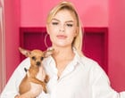 Cadela de Luisa Sonza já mordeu Luan Santana e assustou cão de Anitta