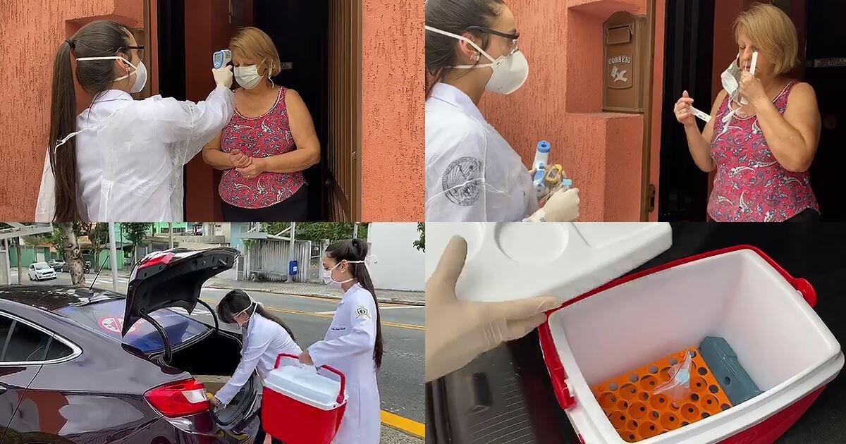 Ao monitorar moradores de São Caetano do Sul, pesquisadores do IMT-USP registraram casos atípicos em que o SARS-CoV-2 seguiu se multiplicando no organismo por um tempo superior ao recomendado para o isolamento (fotos: Programa Corona São Caetano/divulgação)