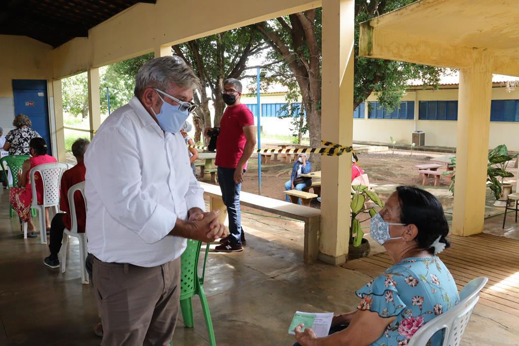Valença do Piaui avança com vacinação de idosos entre 75 e 79 anos - Imagem 43