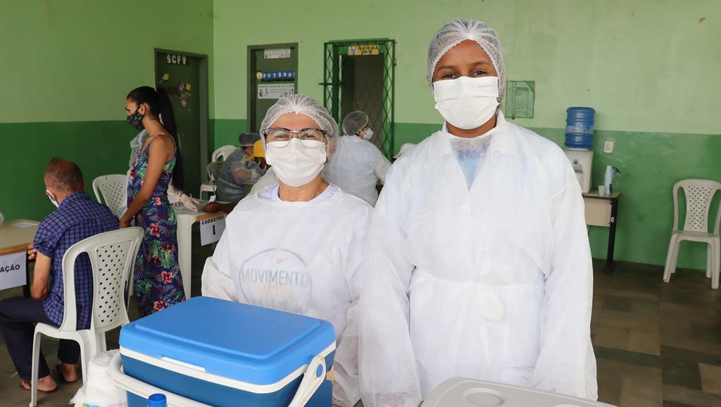 Valença do Piaui avança com vacinação de idosos entre 75 e 79 anos - Imagem 24