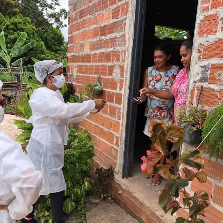 Prefeitura de Monsenhor Gil faz busca ativa, vacinação contra a Covid-19 e orienta a população - Imagem 1